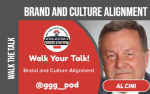 brand and culture alignment, Geeks Geezers Googlization
