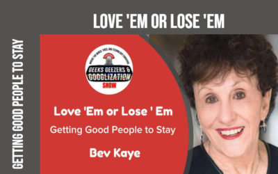 Love 'Em or Lose 'Em: Getting Good People to Stay | 4:011